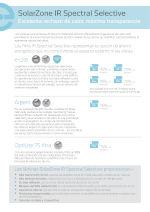 Laminas SolarZone espectral selectivas